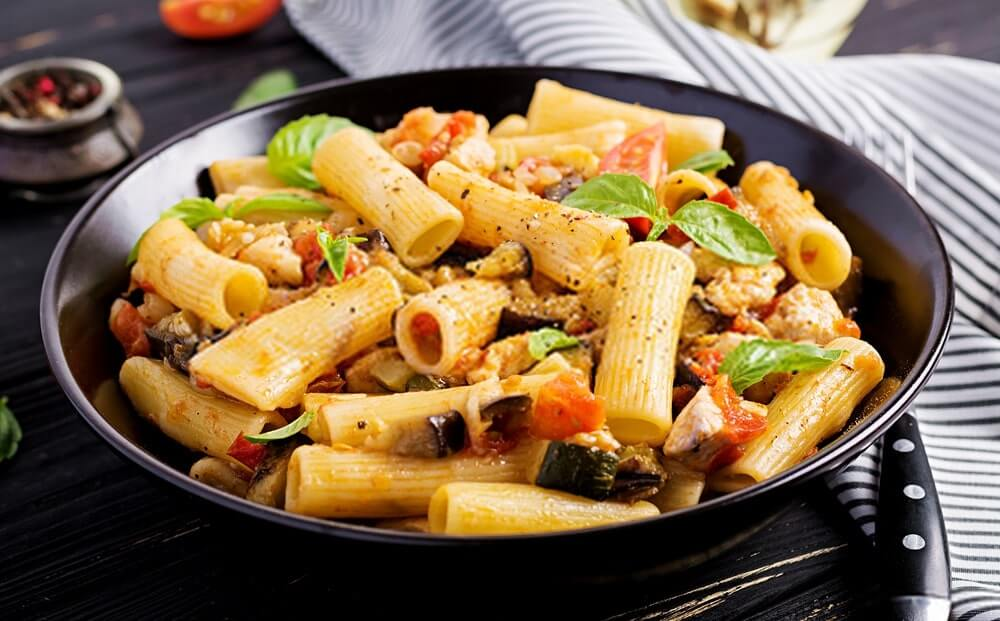 How to make vegetable pasta?
